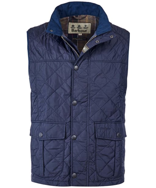 Men's Barbour Explorer Gilet - Navy