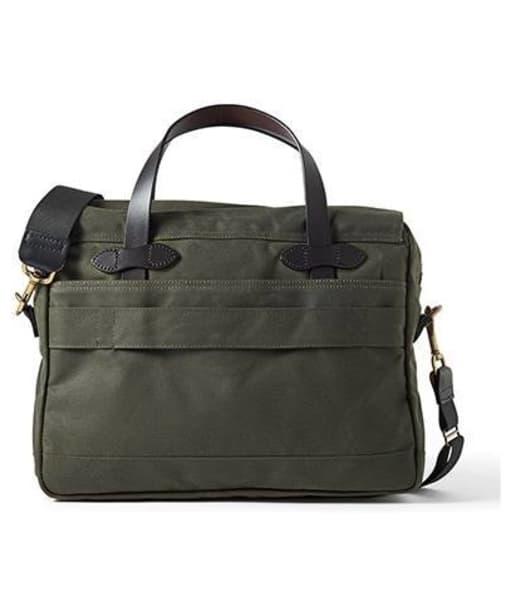 Men's Filson 24 Hour Tin Briefcase - Otter Green