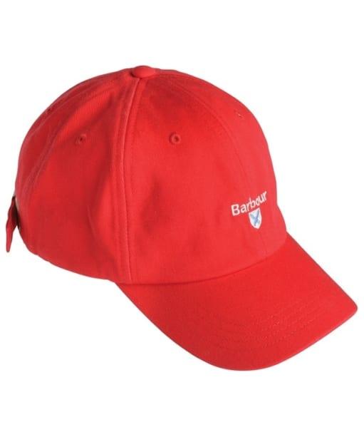 Boys Barbour Cascade Sports Cap - Red