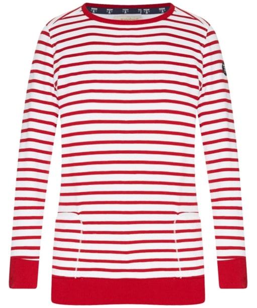 Women's Barbour Berkley Sweatshirt - Chilli Red