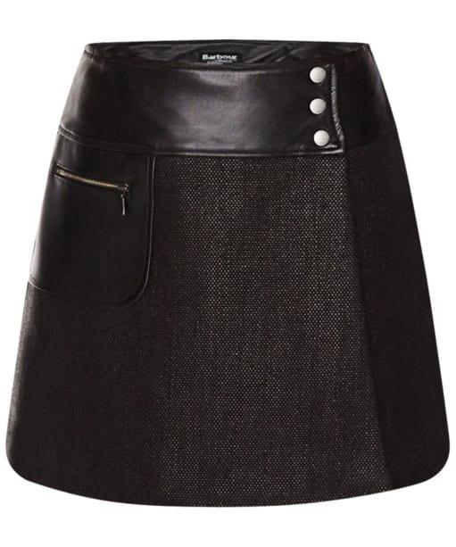 Women's Barbour International Blade Skirt - Black