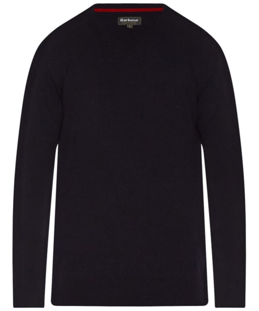 Men's Barbour Harrow V-Neck Sweater - Dark Navy