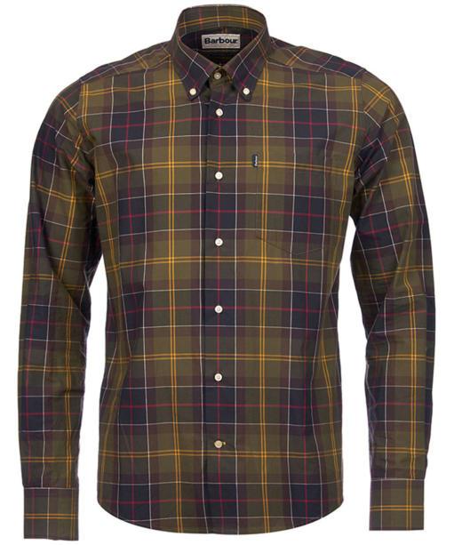 Men's Barbour Herbert Shirt Tailored Fit - Classic Tartan