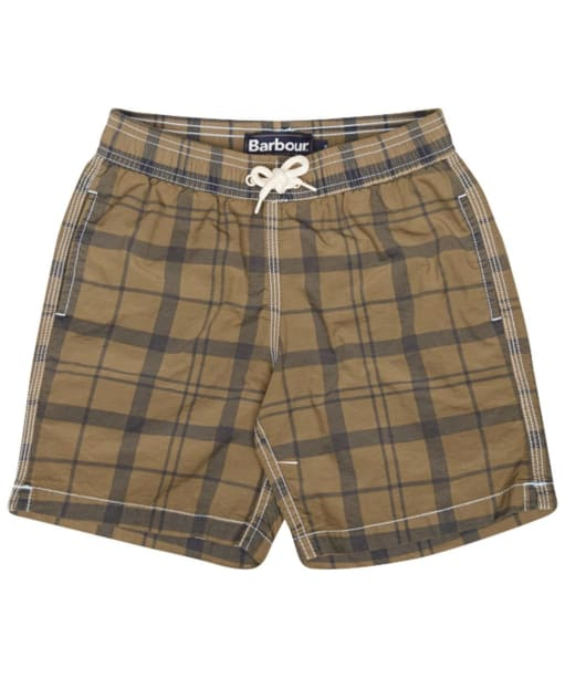 Boys Barbour Hetton Shorts, ages 2-9 - Bleached Olive