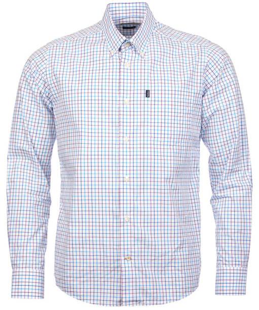 Men's Barbour Patrick Shirt - Plum Check
