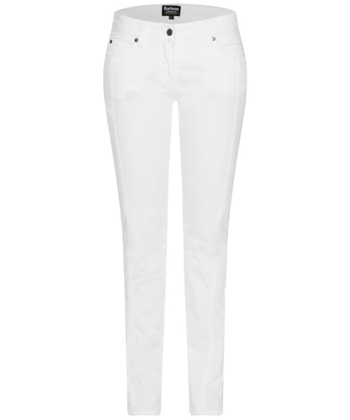 Women's Barbour International Vision Jeans - White