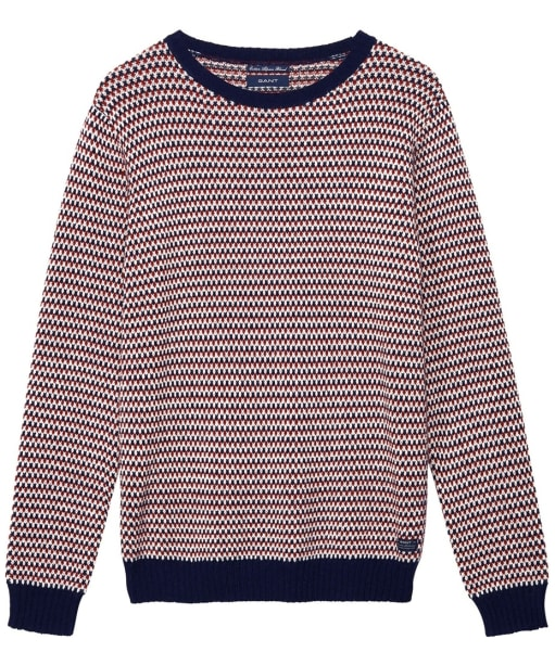 Men's GANT Jacquard Crew Sweater - Multi