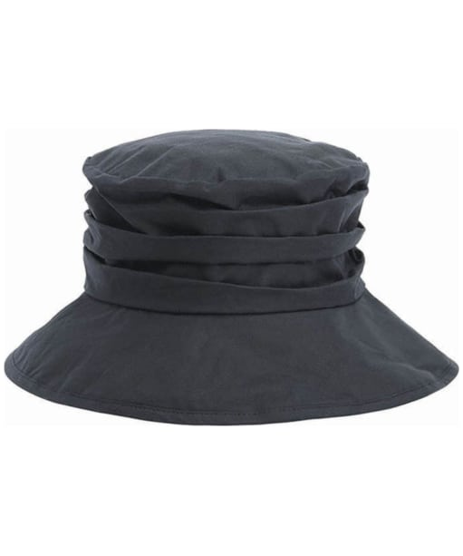 Womens Barbour Wax Sport Hat - Navy