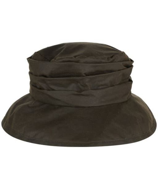 Womens Barbour Wax Sport Hat - Olive