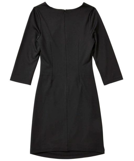 Women's GANT Draped Workwear Dress - Black