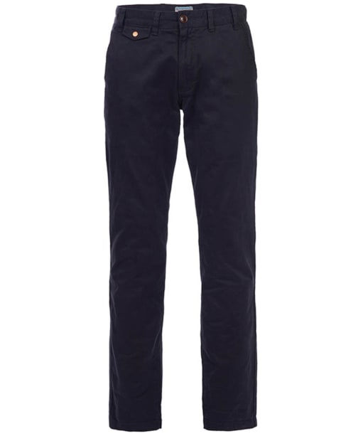 Men's Barbour Neuston Twill Chinos - Navy