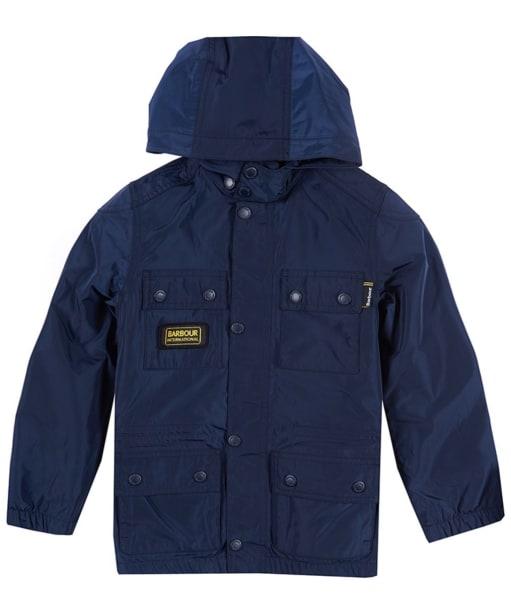 Boy's Barbour International Nyloc Jacket, 10-15yrs - Navy