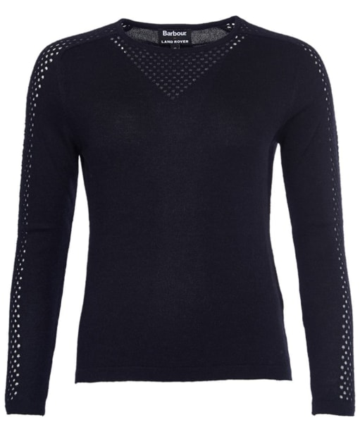 Women's Barbour X Land Rover Ratio Knit Sweater - Black
