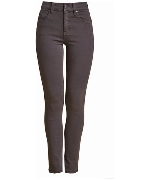 Women's Barbour Essential Slim Trousers - Carbon