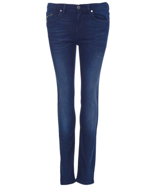 Women's Barbour International Kestral Skinny - Authentic Blue