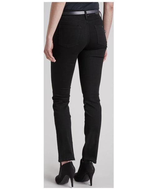 Women's Barbour International Bantam Slim Jeans - Stay Black