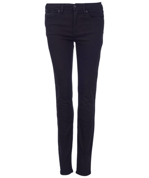 Women's Barbour International Overbore Skinny Jeans - Stay Black