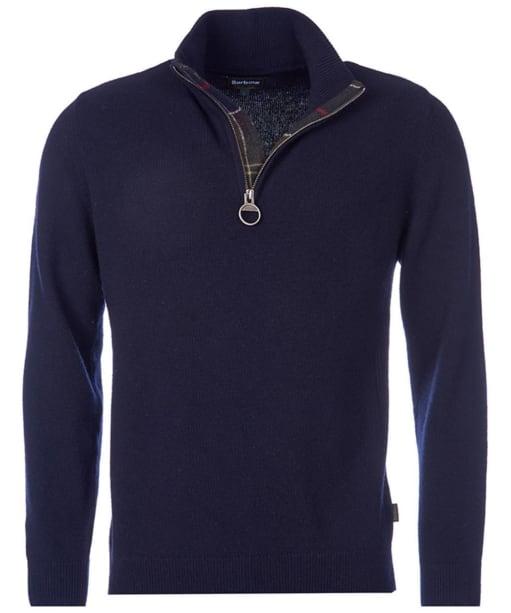 Men's Barbour Holden Half Zip Sweater - Navy