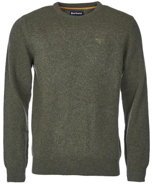 Men's Barbour Tisbury Crew Neck Sweater - Forest