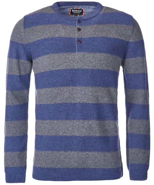 Men's Barbour International Skywing Henley Sweater - Indigo