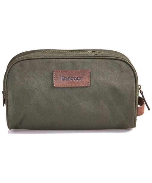 Barbour Drywax Washbag - Olive