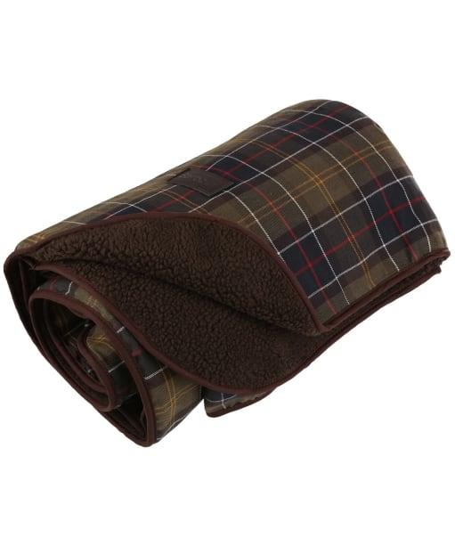 Barbour Large Dog Blanket - Classic Tartan / Brown
