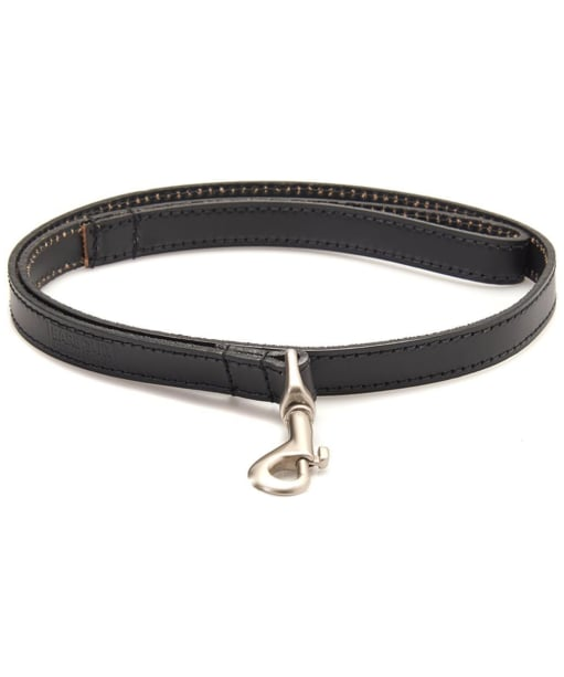 Barbour Leather Dog Lead - Black
