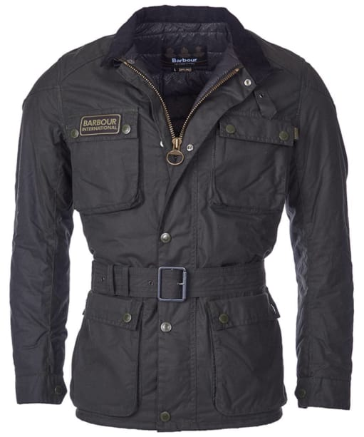 Men's Barbour International Blackwell Waxed Jacket - Sage