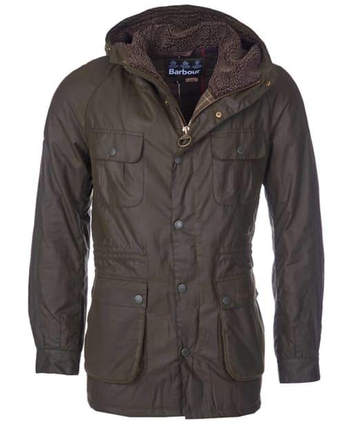 Men's Barbour Brindle Wax Jacket - Fern
