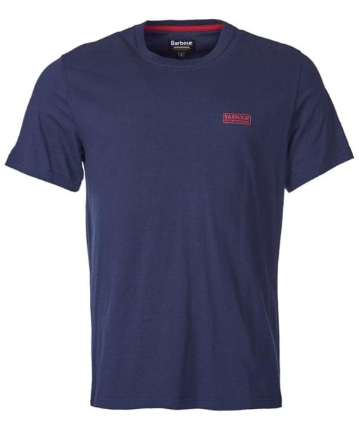 Men's Barbour International Small Logo T-shirt - Navy
