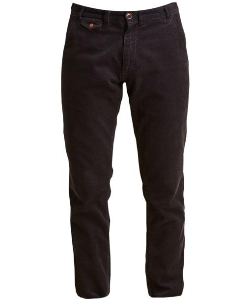 Men's Barbour Neuston Fine Cord Trousers - Navy