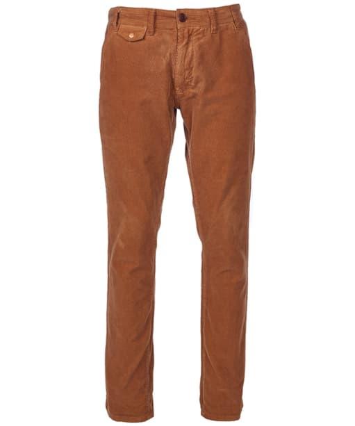 Men's Barbour Neuston Fine Cord Trousers - Camel