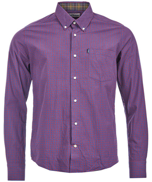 Men's Barbour Country Gingham Tailored Shirt - Crimson Check