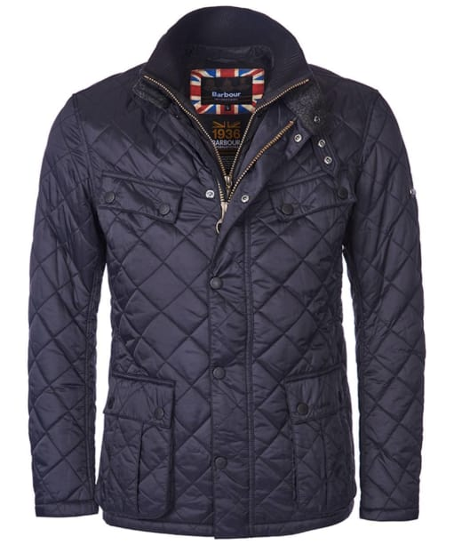 Men's Barbour International Windshield Quilt - Black