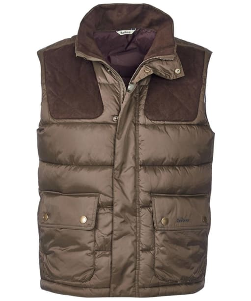Men's Barbour Colwarmth Quilted Gilet - Olive