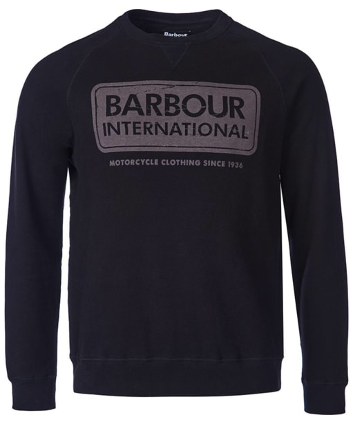 Barbour International Logo Sweater - Black