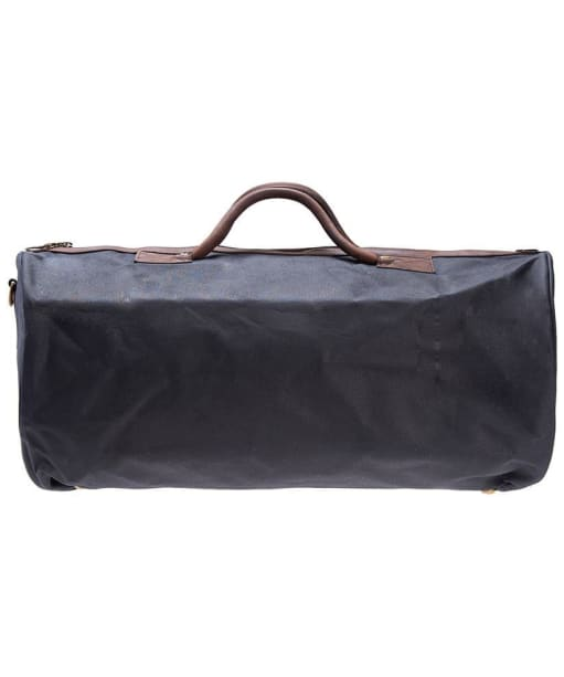 Barbour Waxed Cotton Holdall Bag - Navy
