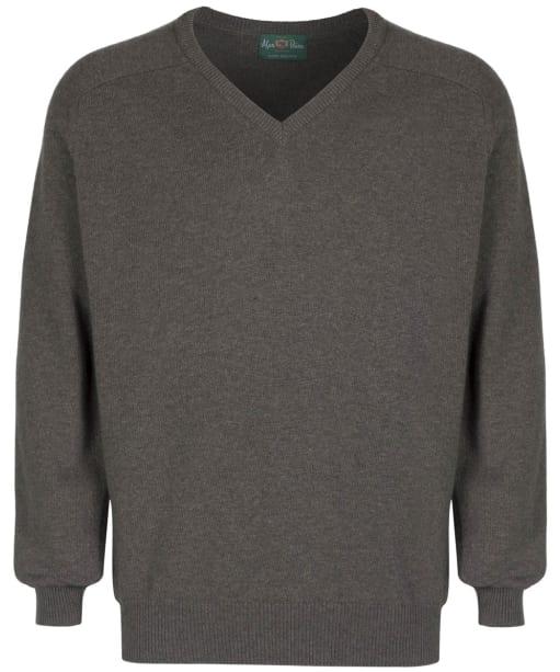 Men's Alan Paine Stratford Long Sleeve V Neck Sweater - Landscape