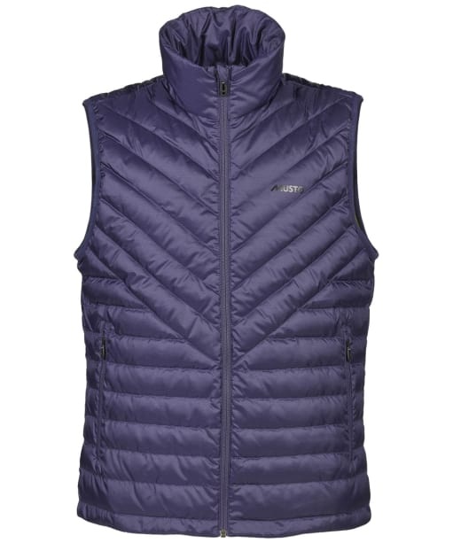 Men's Musto Evo Stratus Down Gilet - Blueberry