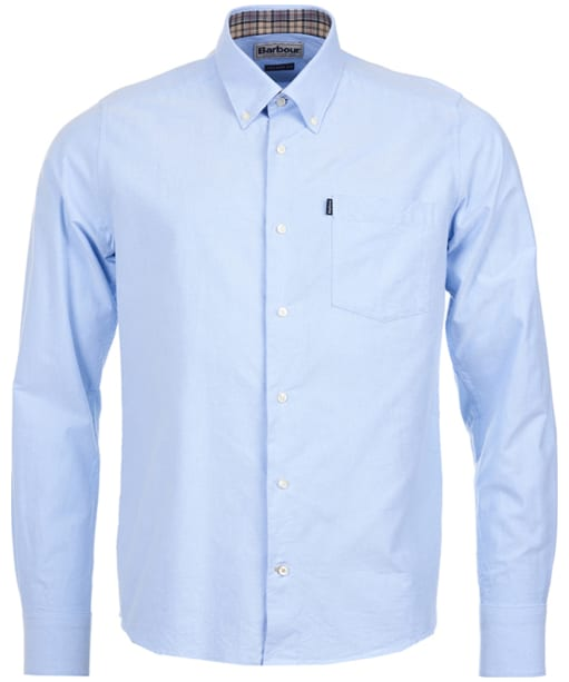 Men's Barbour The Oxford Shirt - Sky Blue