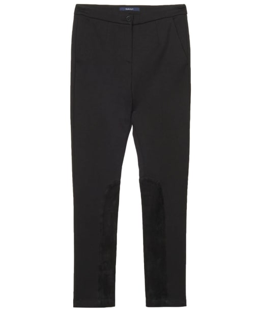 Women's GANT Jersey Jodphur Trousers - Black
