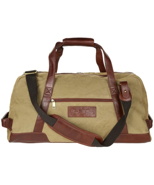 Alan Paine Canvas Travel Bag - Sand