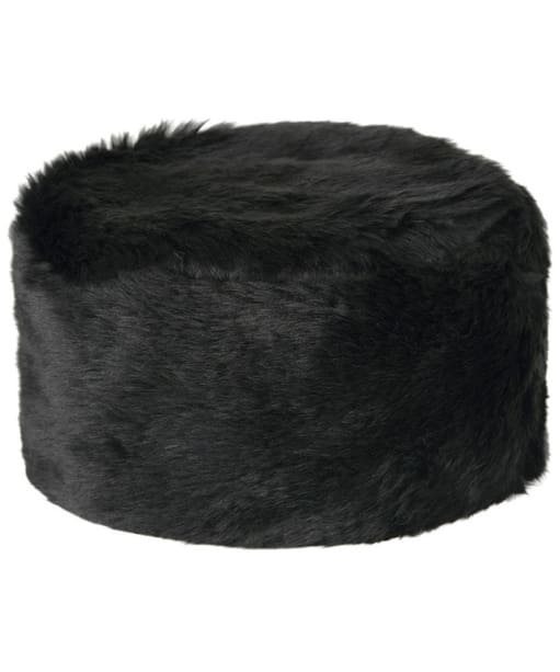 Women's Dubarry Avoca Fur Pill Box Hat - Black