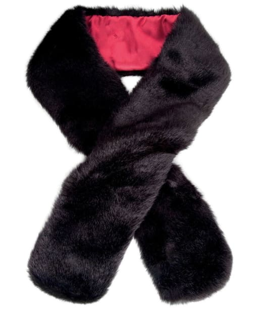 Women's Dubarry Faux Fur Scarf - Black