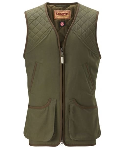 Men's Schoffel Stamford Shooting Vest - Hunter Green