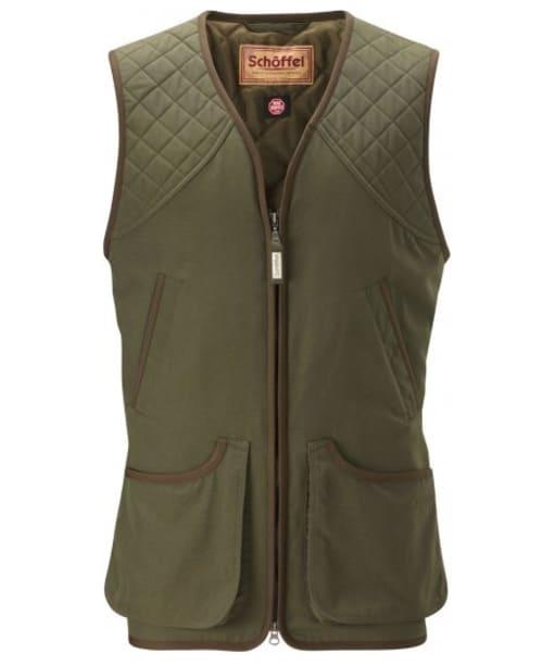Men's Schoffel Stamford Shooting Vest - Hunter Green