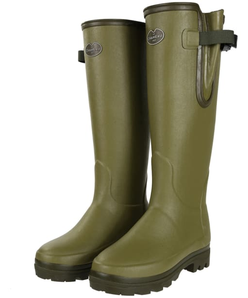 Womens Le Chameau Vierzonord Wellington Boots - Green
