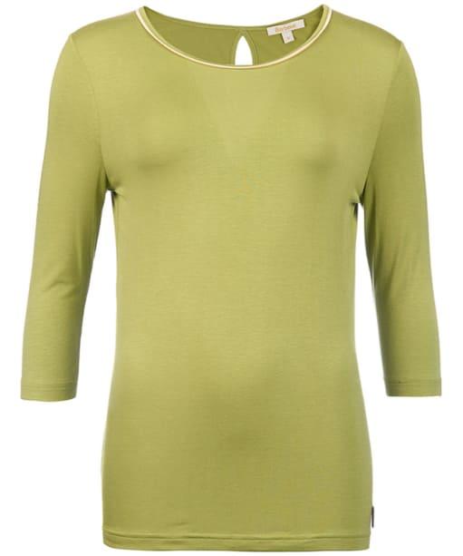 Women's Barbour Monteviot Top - Field Green