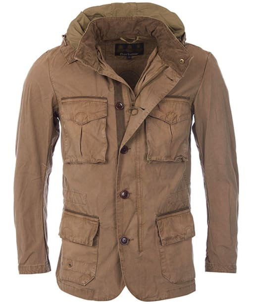 Men's Barbour Solant Tailored Jacket - Military Brown