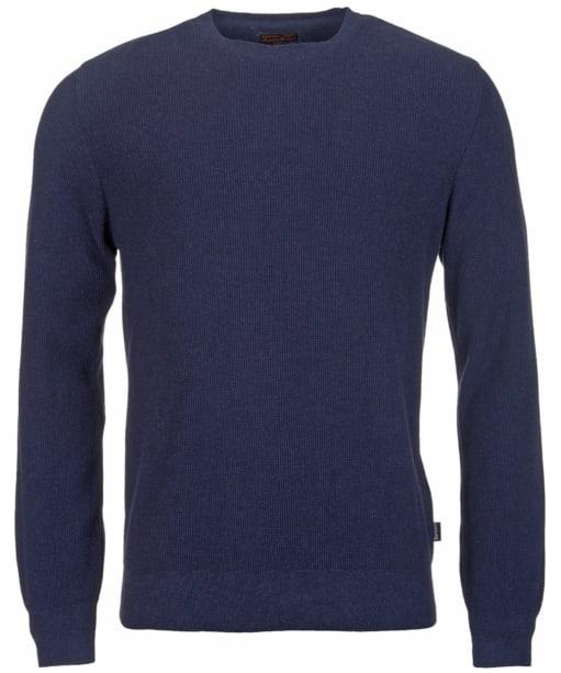 Men's Barbour Irwin Crew Neck Sweater - Navy